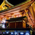 東京遊歩:正月がある浅草の風景