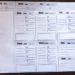 A4四つ折り(超整理手帳サイズ)の自作「週間スケジュール」のPDF(更新2019.01.29)