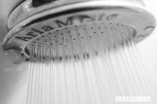 「マイクロナノバブル」シャワーヘッド
