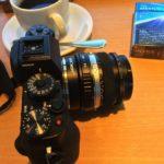 Fuji X-T1とOM レンズ